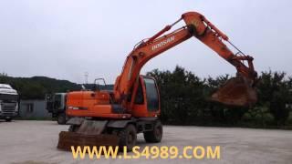 edo07 5974 2007year doosan used excavator leaders construction machinery