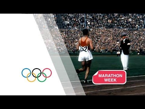 Incredible Finish To The Marathon - London 1948 Olympics