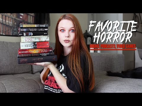 MY FAVORITE NON-MOVIE HORROR THINGS | Books, Podcasts, Video Games