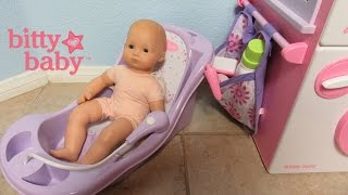 American Girl Bitty Baby Doll Bathtub!  Bitty's Bathtub with Bella!  I need your help!