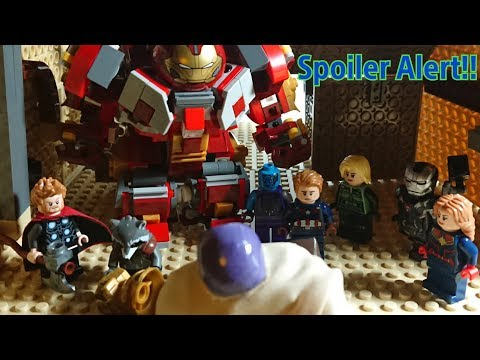 """Avengers Endgame in lego #2 """"Thanos First Death"""""""