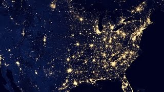 Новый Год - взгляд из космоса...