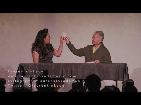 """Ishi Kara Ishi"" from Allegiance   Lauren Kinkade and George Takei"