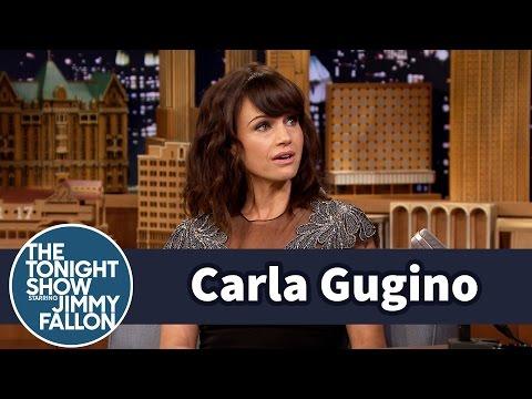 Carla Gugino Played Zack Morris † Girlfriend
