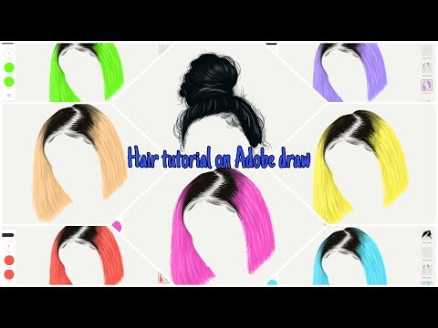 Hair tutorial on Adobe Draw thumbnail