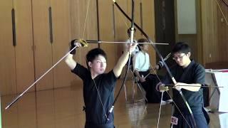 第28回全国大学弓道選抜大会 日大  20射皆中