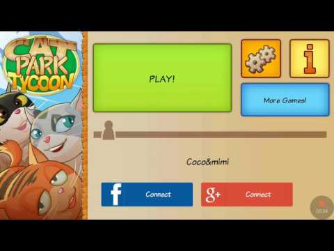 Playing cat park tycoon WARNING:CUTENESS
