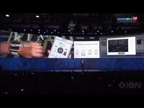 Samsung at CES: 4K, Michael Bay & Tablets