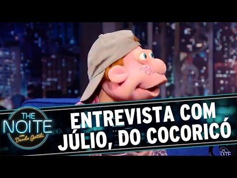 The Noite (29/04/16) Entrevista com Júlio
