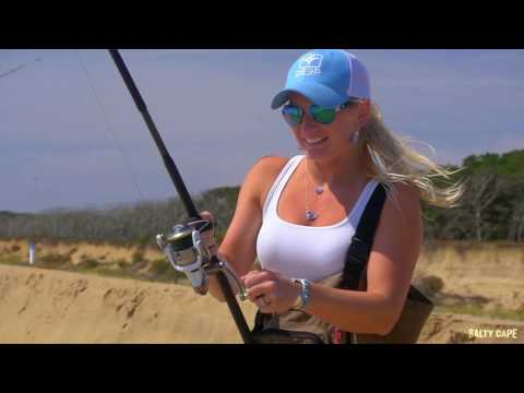 Martha's Vineyard Surf Fishing For Albies With Epoxy Jigs