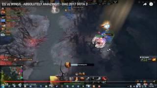 EG vs Wings - Sumail bị bắt bài trong một pha blink ảo
