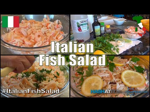 Episode #9 - Italian Fish Salad With Nonna Paolone