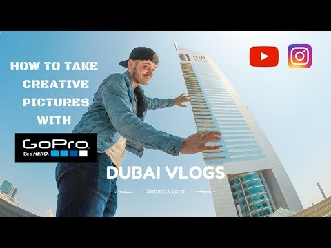 How to take AWESOME GoPro pictures / Dubai Emirates Towers edition
