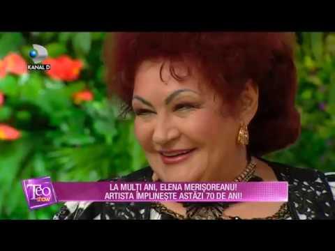 Teo Show (05.11.2018) - La multi ani, Elena Merisoreanu! Artista implineste astazi 70 de ani!