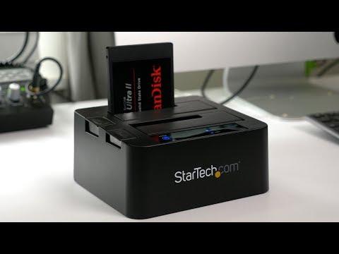 Hands-on: StarTech USB 3.1 Dual Bay SATA Dock