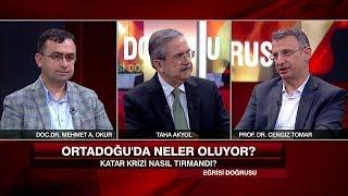 Katar'a Konulan Ambargo Türkiye'ye Mesaj Mı? - Eğrisi Doğrusu 9 Haziran 2017 Cum