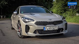 2018 KIA Stinger GT (370hp) - DRIVE & SOUND (60FPS)