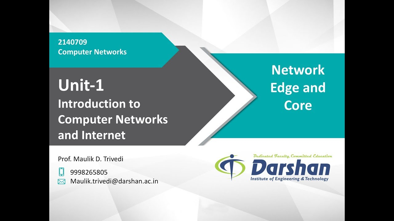 1 02 - Network Edge and Core