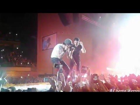 Enrique Iglesias com Mickael carreira, Bailando Meo Arena