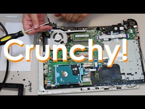 Toshiba Satellite L55 Broken Hinge Mount Repair - Jody Bruchon