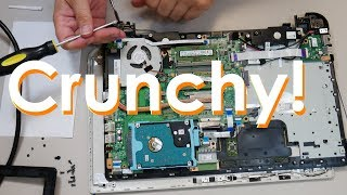 Toshiba Satellite L55 Broken Hinge Mount Repair - Jody Bruchon