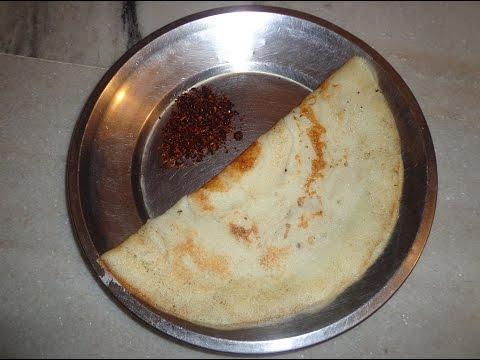 How to make TASTY DOSA Recipe in Telugu