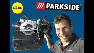 #PARKSIDE - Sierra Circular Portátil - Un pequeño juguete que te dejará impresionado.