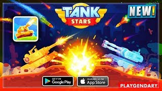 🔥TANK STARS ANDROID/iOS GAMEPLAY HD | NEW BEAUTIFUL FUN GAME ANDROID | NOOBTHEDUDE GAMING