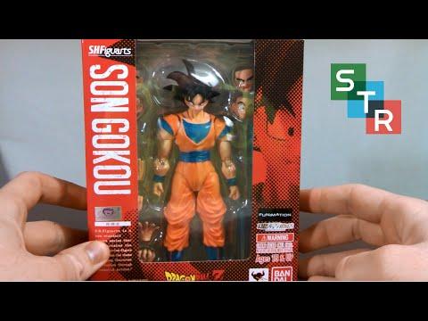 SH Figuarts Goku Unboxing