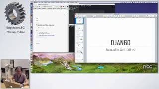 Quick Introduction to Django - TechLadies Tech Talks