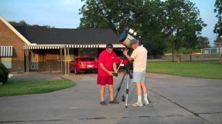 "Cosmic Obsession Observatory ""Telescope Set UP."""