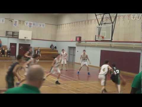 5'10 CK Guard Brian Sawler - circus shot over 6'7 defender