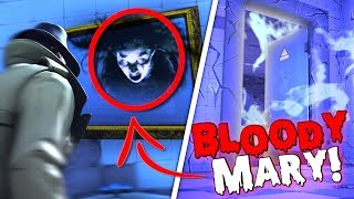 *NEW SECRET* BLOODY MARY EASTER EGG in Fortnite Battle Royale! (BLOODY MARY CHALLENGE!)