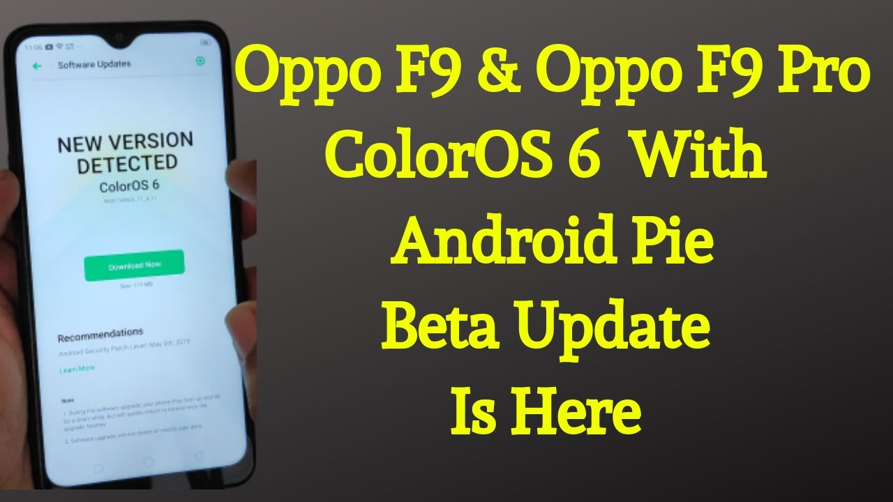 How To Install ColorOS 6 on Oppo F9 And Oppo F9 Pro|ColorOS 6 With Android  Pie Beta For Oppo F9 Pro
