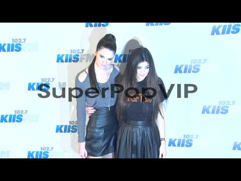 Kendall Jenner, Kylie Jenner at 102.7 KIIS FM's Jingle Ba...
