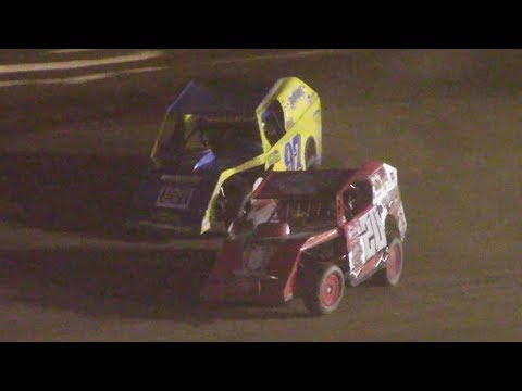 Modified B-Main Four | Tyler County Speedway | 6-30-18