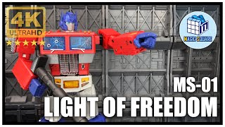 Magic Square MS-01 LIGHT OF FREEDOM Transformers Masterpiece Optimus Prime