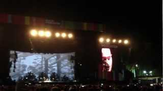 Editors ~ No Sound But The Wind @ Rock Werchter 2012