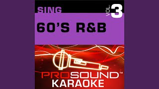 Where Did Our Love Go (Karaoke Lead Vocal Demo) (In the Style of Supremes)