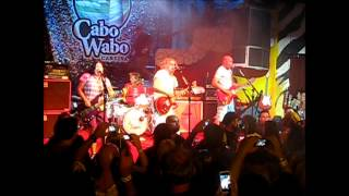 "SAMMY HAGAR ""KNOCKDOWN DRAGOUT"" OCT 7, 2013 BIRTHDAY BASH CABO WABO CANTINA MEXICO"