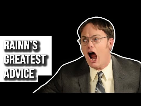 Dwight reveals the secrets of the universe
