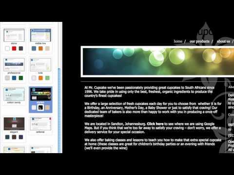 Woza Online: Changing Themes