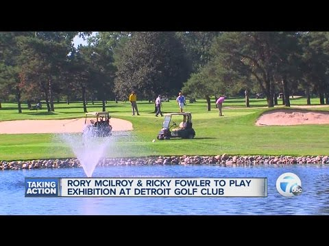 Exhibition golf event coming to Detroit