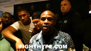 FLOYD MAYWEATHER TELLS ALL FIGHTERS