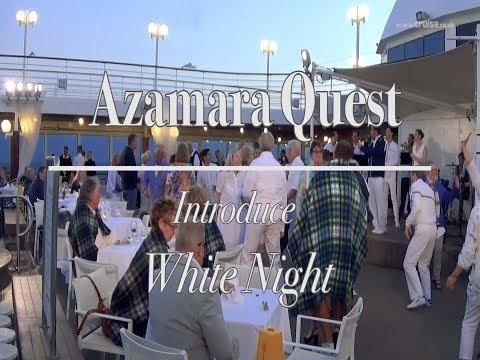 Azamara Quest's White Evening Experience