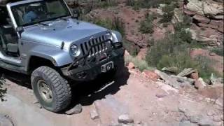 Elephant Hill Jeep Rubicon, Sahara, off road in Canyonlands National Park