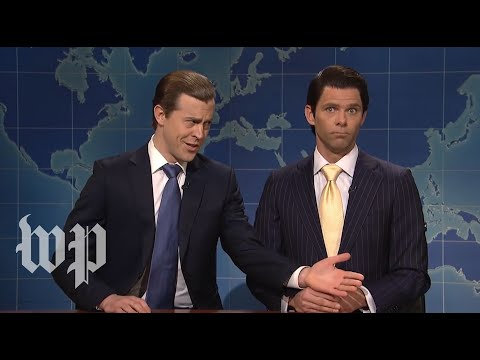 The Trump brothers on SNL vs. real life
