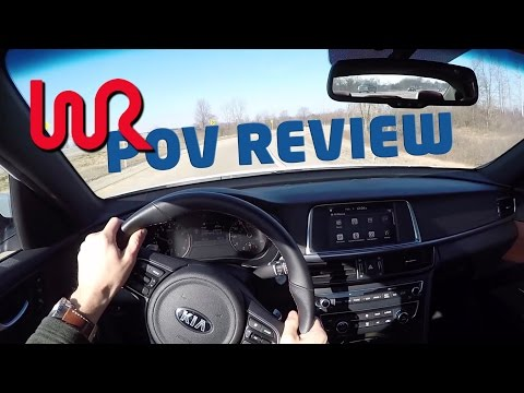 2016 Kia Optima SX Turbo – WR TV POV Review