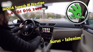 2019 Skoda Superb ( III ) | 1.6 TDI 120hp DSG | Sürüş - İzlenim | City Drive | Cappadocia | Prestige