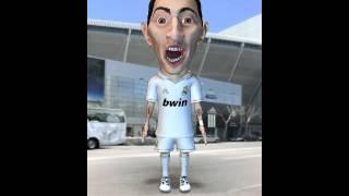 Angel Di Maria - Campeones Campeones Ole Ole Ole - Hala Madrid
